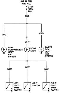 [SCHEMATICS_48YU]  Opening doors does not turn on interior lights. | GM Truck Club Forum | Gm Courtesy Light Wiring Diagram |  | GM Truck Club Forum