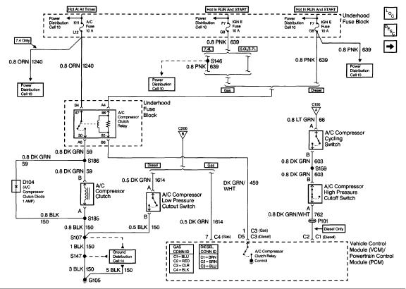 1999 gmc suburban a c compressor wiring diagram a c clutch always engaged gm truck club forum  a c clutch always engaged gm truck