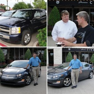 2011 Chevy Volt Test Drive in Dallas