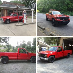 Red Truck Picture Thread