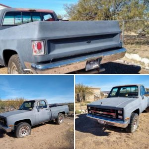 1986 Chevy 1500 Short bed 4X4 $4500.00